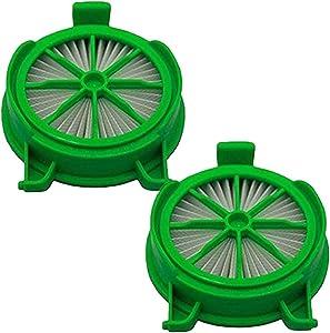 KingBra 2Pcs Replacement Vacuum HEPA Filter Compatible with Rowenta Powerline RH7855WA RH76431A RH7665IA RH7648IA