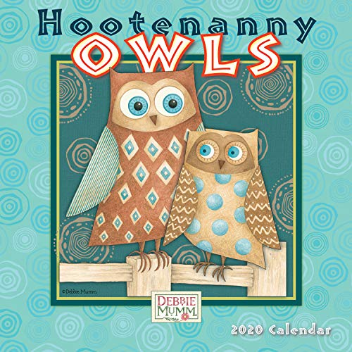 Hootenanny Owls 2020 Mini Calendar: by Sellers Publishing
