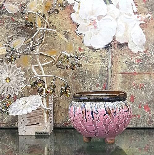 Handmade Ceramic Plant Pot with Drainage | Flower Vase Home Decor | Succulent Cactus Herb Planter 1