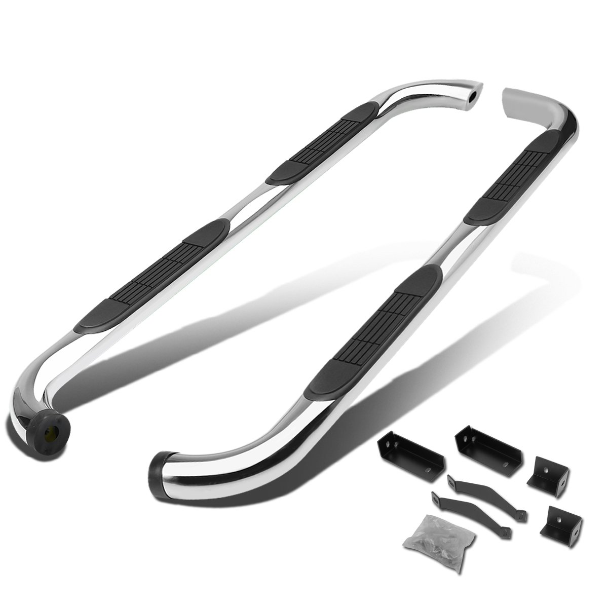 For Nissan Titan King Cab 3' Side Step Nerf Bar Running Board (Chrome) Auto Dynasty