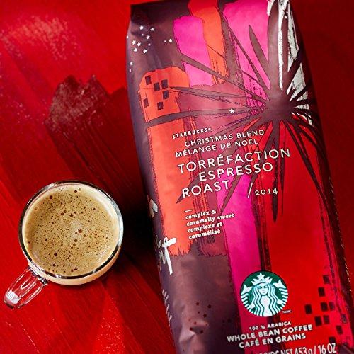 Starbucks Christmas Blend Espresso Roast, Whole Bean Coffee (1lb) (Whole Bean Espresso Starbucks compare prices)