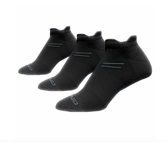 Brooks Run-In Three Pack 3 Pack Socks (Small US Women 4-6.5
