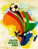 11''x14''Travel Poster.South Africa Soccer.Futbol 2010 world cup.7199