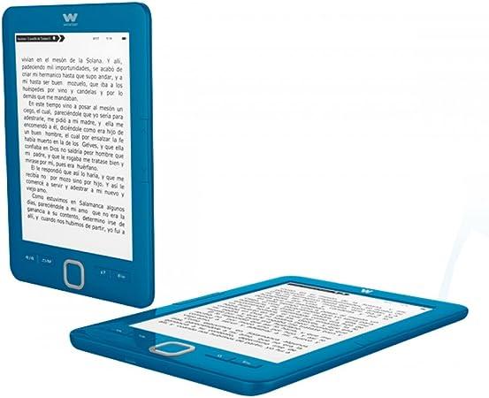 Woxter E-Book Scriba 195 Blue- Lector de Libros electrónicos 6 ...