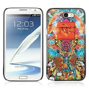 YOYOSHOP [Cool Psychedelic Pattern Illustration] Samsung Galaxy Note 2 Case