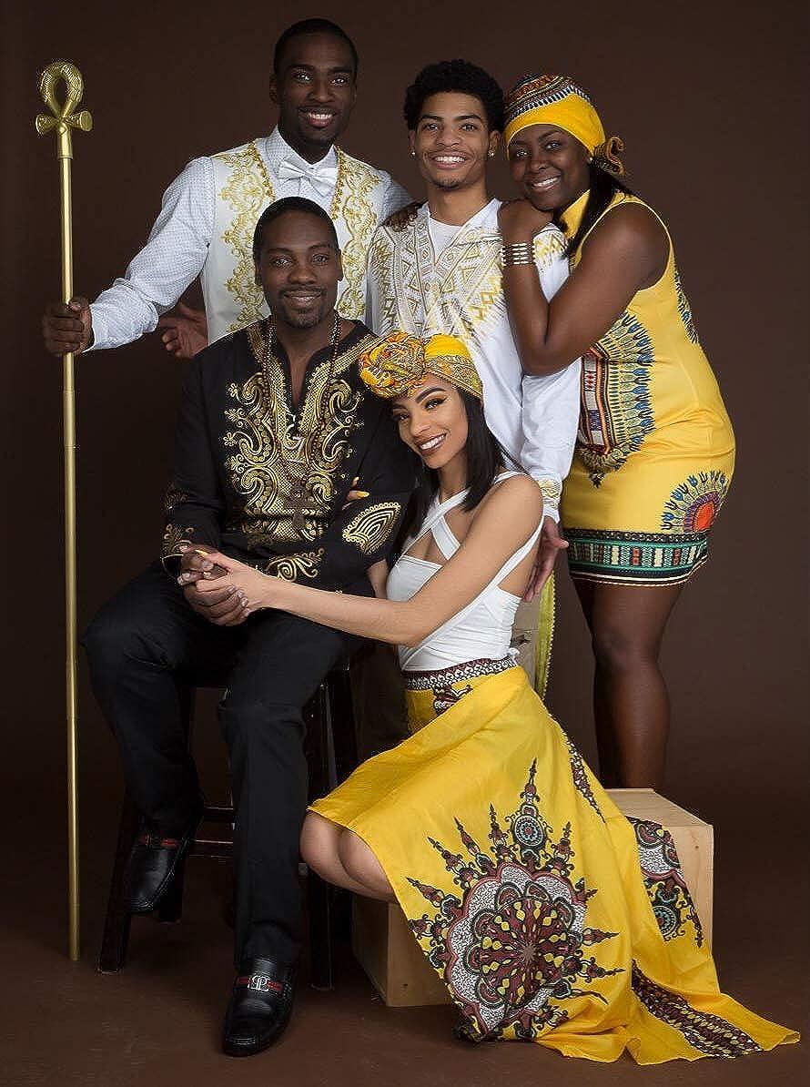LVOW Femme Mode Africaine /Écharpe de T/ête Extra Long 63x32 Cheveux Bandana Bandeau Turban Foulard Cravate