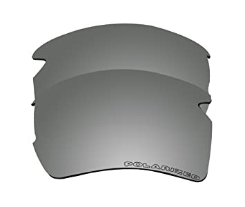 oakley half jacket replacement lenses black iridium polarized yms5  BVANQ Polarized Replacement Lenses for Oakley Flak 20 XL OO9188  Sunglasses