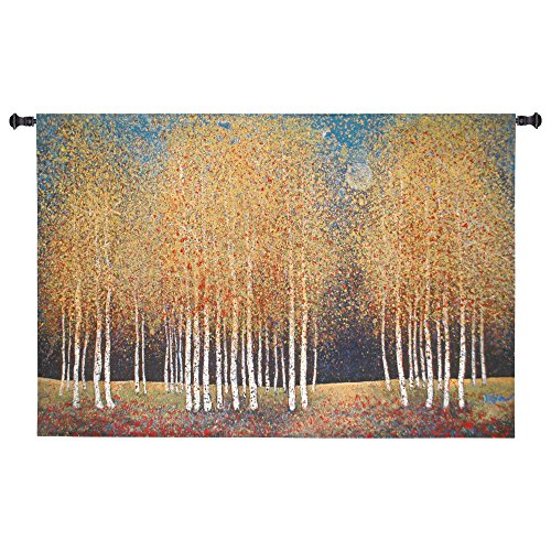 Fine Art Tapestries Golden Grove Hand Finished European Style Jacquard Woven Wall Tapestry USA Size 36x53