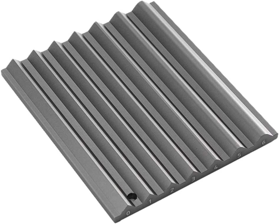 joyMerit Aluminium Sharpener Guide Grinder for Leather Edge Bevelers Sharpening