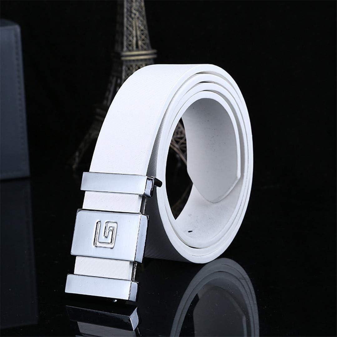 Men Automatic Buckle Leather Waist Strap Belts Luxury Designer Male Belt