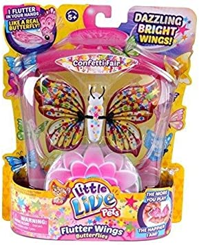 Little Live Pets Butterflies Confetti Fair by Character Options Series 3