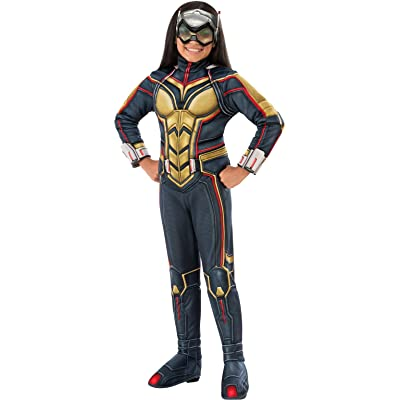 Rubie's Ant-Man Girl's Deluxe Wasp Costume, Medium: Toys & Games