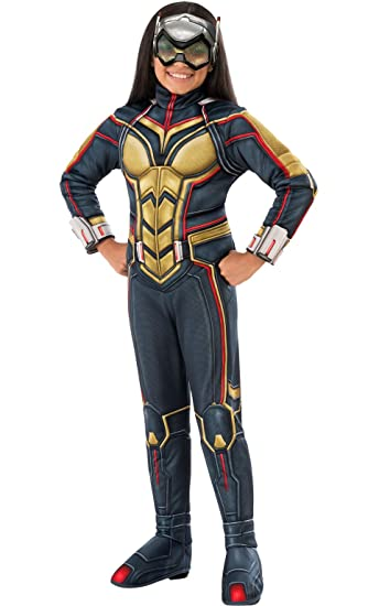 Rubies Ant-Man Girls Deluxe Wasp Costume, ...