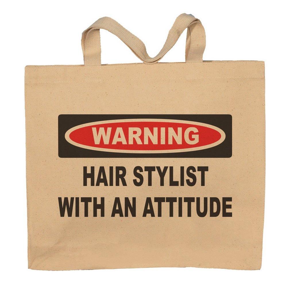 Hair Stylist With An Attitude Totebag Bag