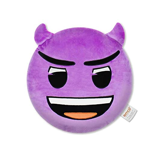 Emoji- Cojín Bordado Demonio Oficial (PIW_Devil_EB)