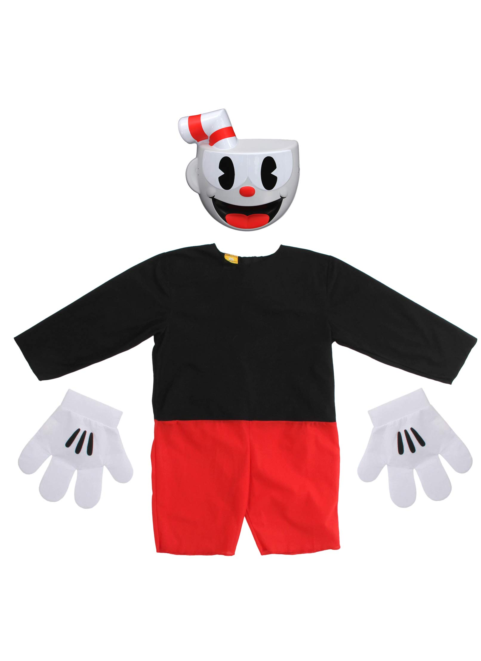 elope Cuphead Cosplay Basic Costume Kids 10-12 by elope (Image #2)