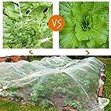 Originline Garden Netting Bug Mosquito Barrier Insect Screen Mesh Net, 10x12ft, White