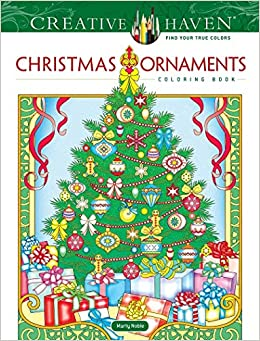 Christmas 2020 Coloring Ordiment Amazon.com: Creative Haven Christmas Ornaments Coloring Book