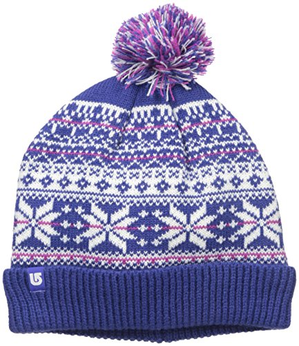 Burton Youth Girls McKenzie Beanie, Sorcerer, One - Flap Everest Hat