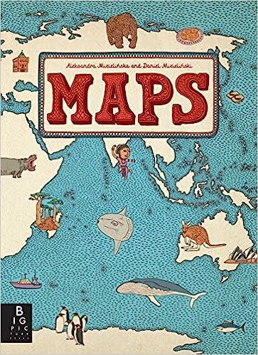 Maps Aleksandra Mizielinska Daniel Mizielinski 8601400375570