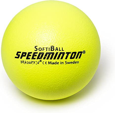 Speedminton softi Pelota Espuma, Amarillo neón, 25 cm: Amazon.es ...
