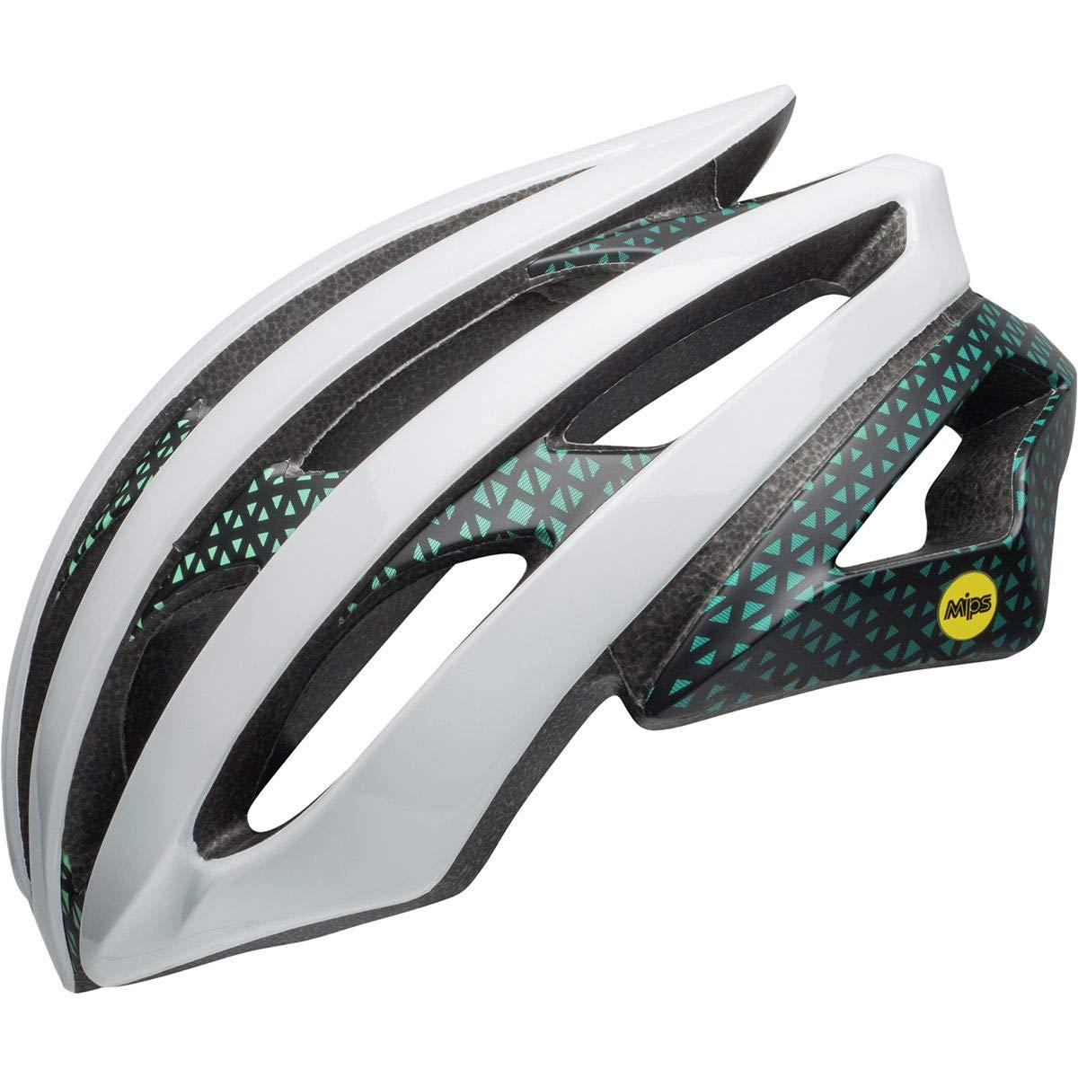 Bell Stratus MIPS Helmet Circuit Matte/Gloss White/Black/Mint, S