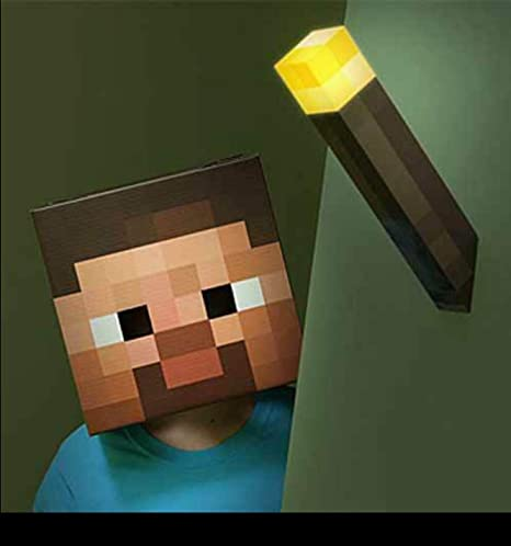 Minecraft Wall Torch Amazon Ca Toys Games