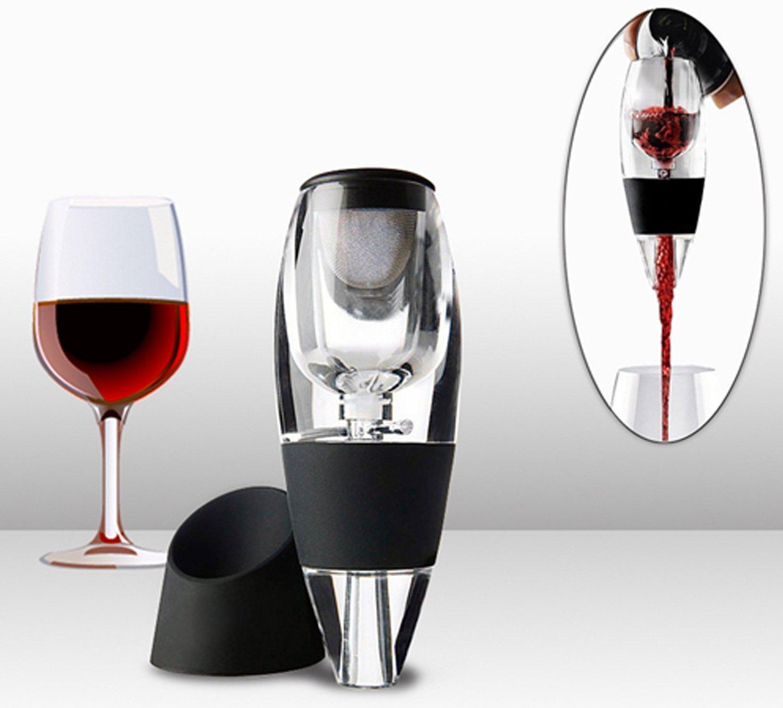 Freegoing Red Wine Aerator Filter Bottle Pourer Glass Decanter SYNCHKG116401