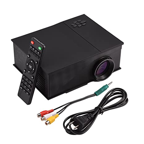 Amazon.com: Fosa Mini Proyector, 1200LM Brillo 1080P HD ...