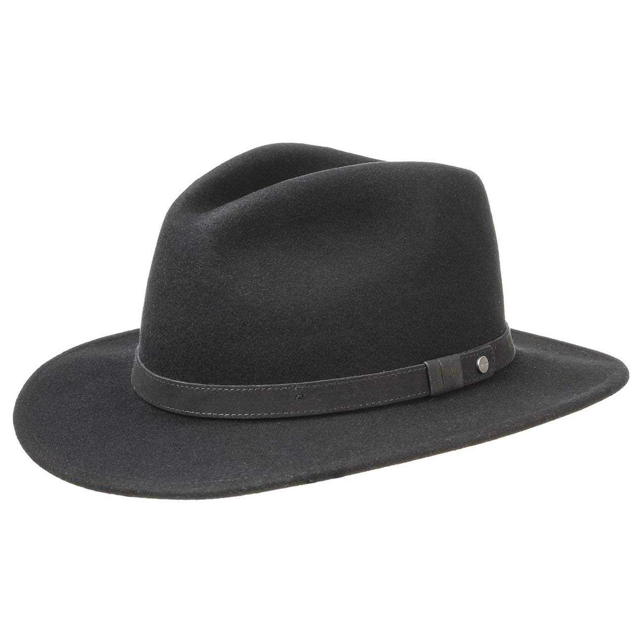 9602a3697c001 Stetson Yutan Wool Hat Women Men at Amazon Men s Clothing store