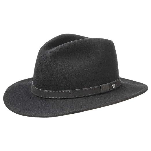 bbb533bff4e Stetson Yutan Wool Hat Women Men at Amazon Men s Clothing store
