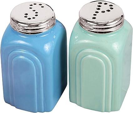 Vintage 1950/'s  Burrite  Salt /& Pepper Shakers