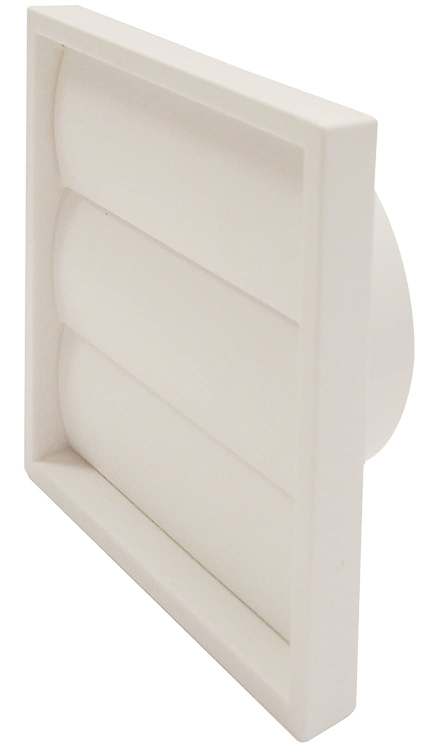 Manrose 1202w 6-inch Gravity Wall Grille - White