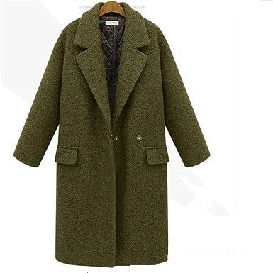 ZEARO Herbst Winter Wolle Frauen Jacke Mantel Damen Lange