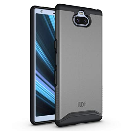 Sony Xperia 10 Plus Case, TUDIA [Merge Series] Dual Layer Heavy Duty Extreme Drop Protection/Rugged Phone Case for Sony Xperia 10 Plus [NOT Compatible ...