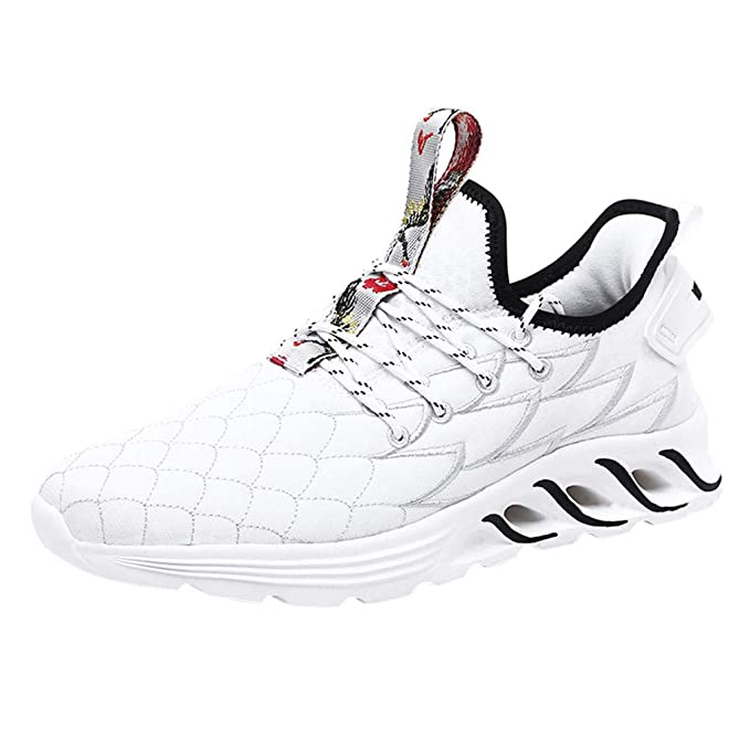 Zapatillas de Running para Hombre,JiaMeng Air Cushion Sneakers ...