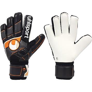 Mens UHLSPORT PRO COMFORT TEXTILE - LTD. EDITION FLAT PALM Goalkeeper  Gloves For Football