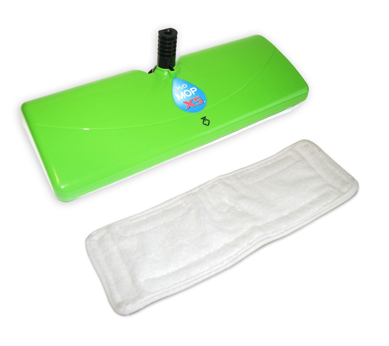 H2O Mop X5 Steam Cleaner Extra Large Mop Head with Microfiber Pad Thane Direct Canada Inc