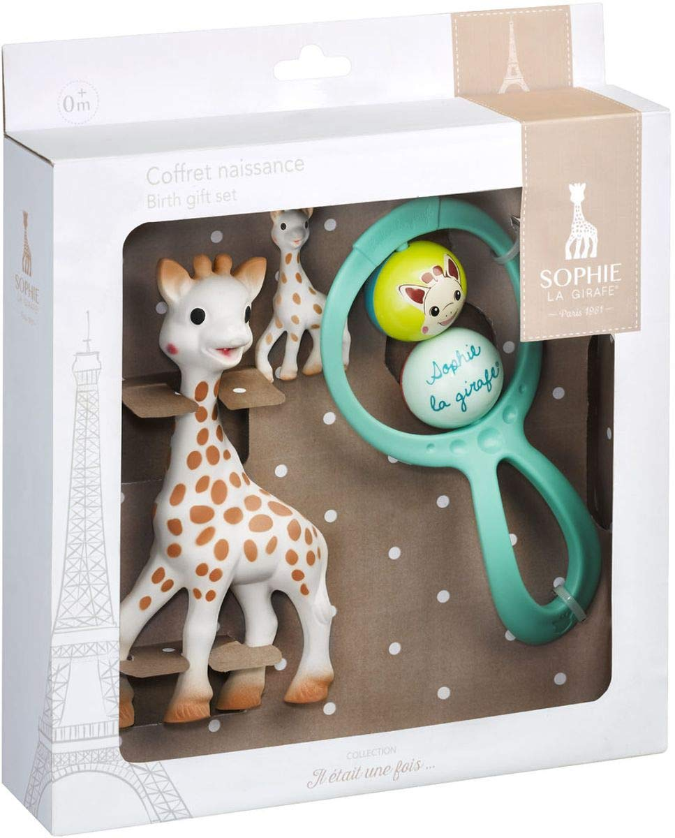 First Age Birth Set Sophie the Giraffe by Vulli