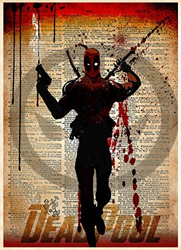 with Deadpool Posters & Prints design