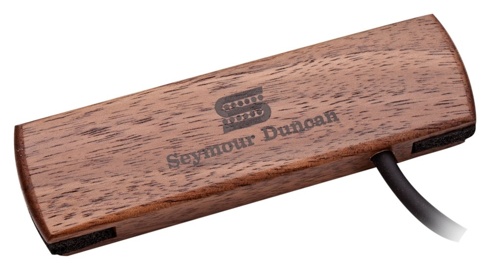 Seymour Duncan Woody SC SA-3SC Single Coil Acoustic Soundhole Pickup - Walnut