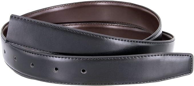 """Reversible Black and Brown Carbon Fiber Design Men/'s Dress Belt 1-3//8/"""" Wide"""