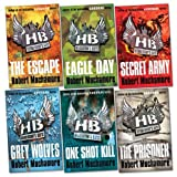 Henderson's Boys Pack, 6 books, RRP £41.94 (The Escape; Eagle Day; Secret Army; Grey Wolves; The Prisoner; One Shot Kill).