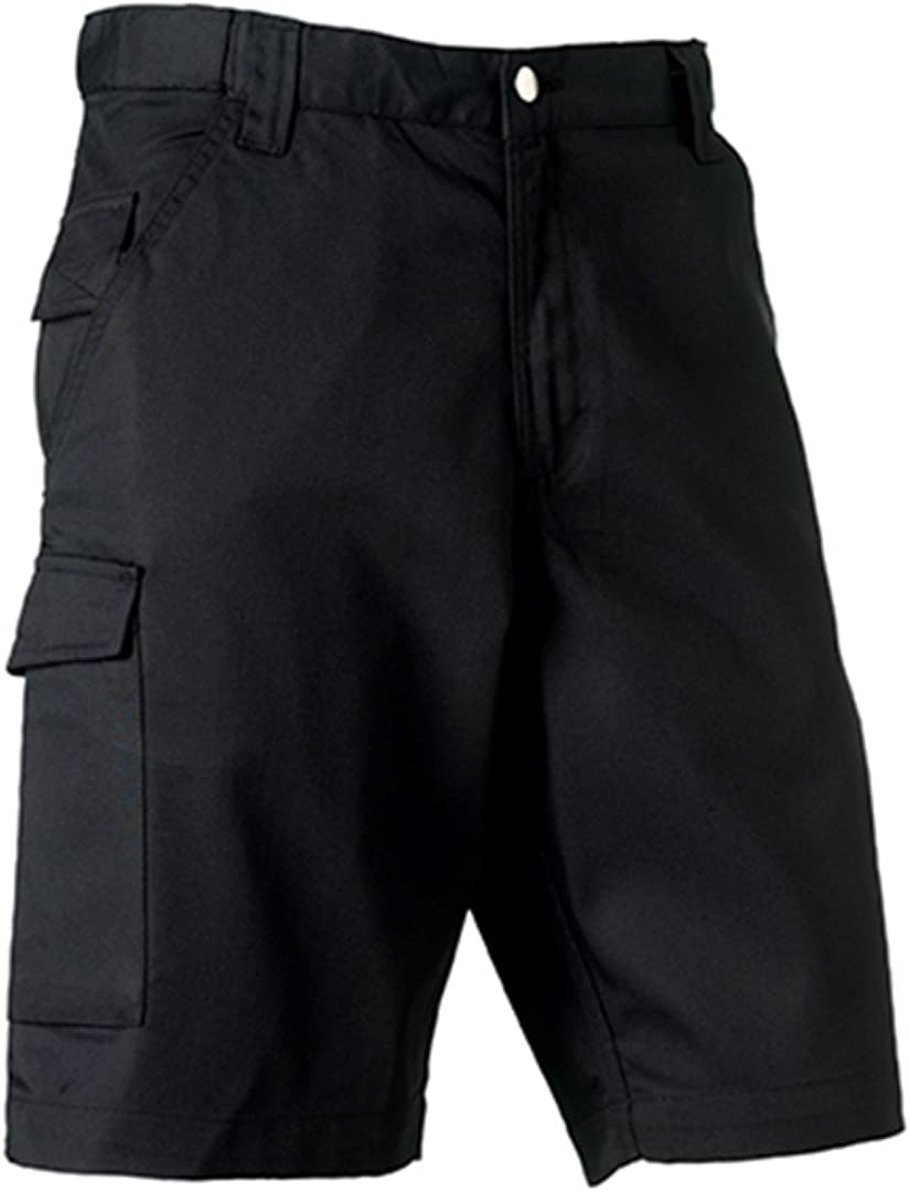 Color Size Russell Workwear Work Shorts 42 Black