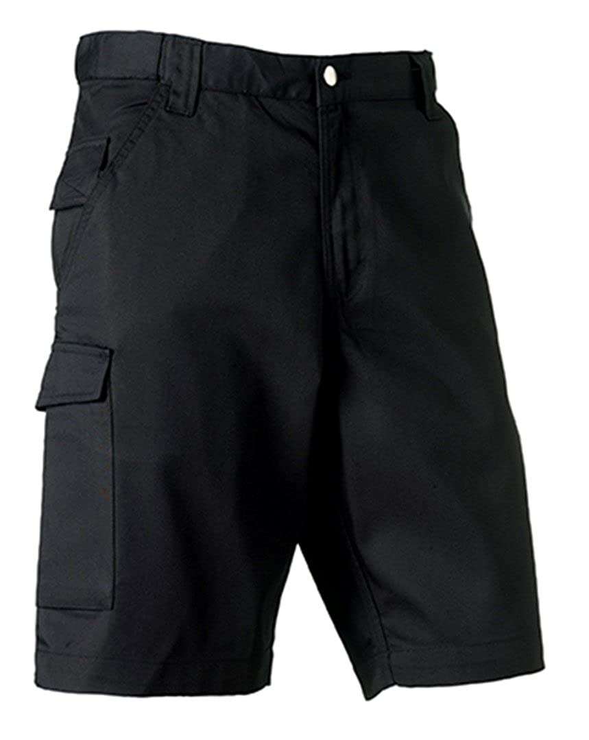 Color 30 Size Russell Workwear Work Shorts Black