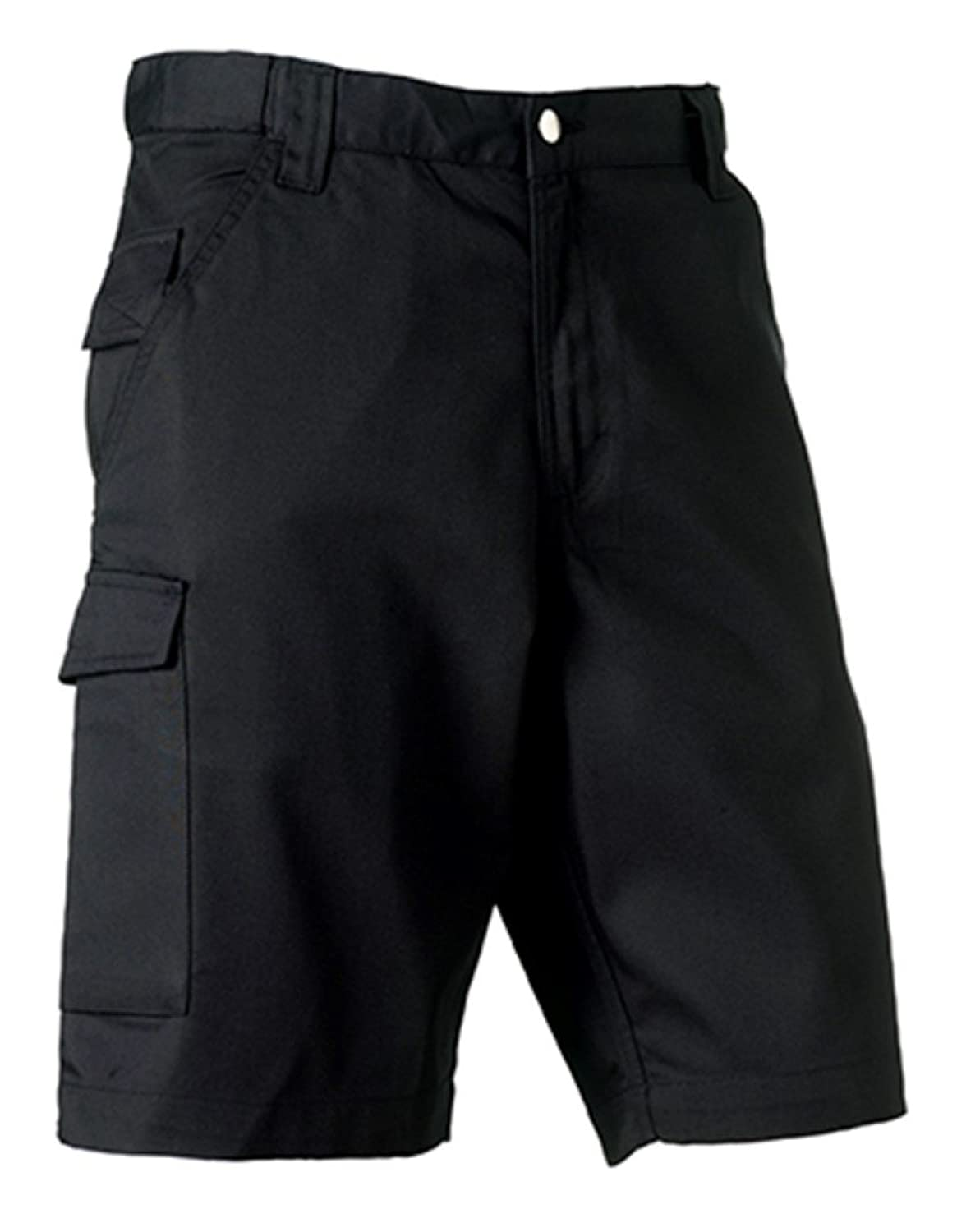 Russell Workwear Work Shorts : Color - Black : Size - 28