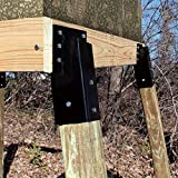 Mofeez Outdoor 4x4 Compound Angle Brackets for Deer
