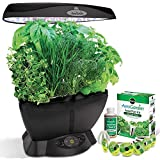 Countertop Herb Garden AeroGarden Classic 6 with Gourmet Herb Seed Pod Kit
