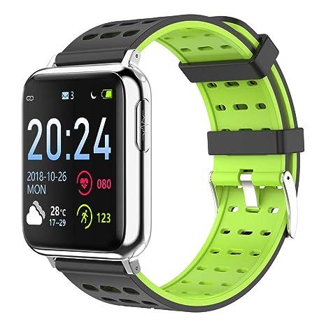 HKPLDE Bluetooth Smartwatch/Pulsómetro Pulsómetro Sport Monitor De ...