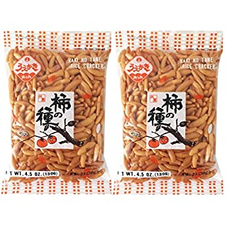 Japanese Traditional Rice Crackers : Nori Maki Arare/ Kaki No Tane 2packs (Kaki No Tane Original)